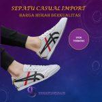 Sepatu Pria Model Tiger Warna Putih Import