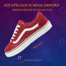 Sepatu Old School Warna Merah