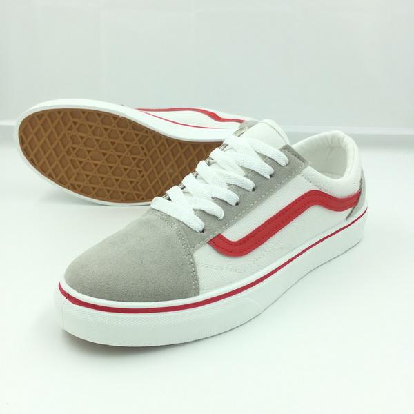 Sepatu Import Old School List Merah