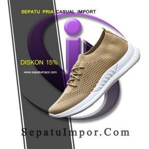 Sepatu Pria Bahan Rajut Import