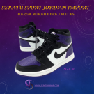 Spesial Sepatu Sport Branded Asli Import