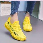Sepatu Wanita Warna Kuning Asli Import BSI 291
