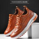 Sepatu Pria Casual Warna Coklat