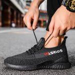Sneakers Pria Asli Import Warna Hitam