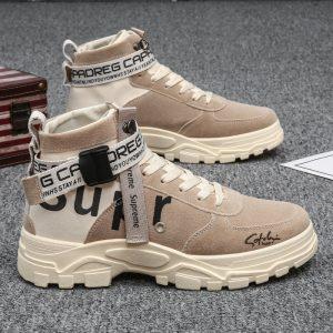 Sepatu Boots Pria Warna Coklat