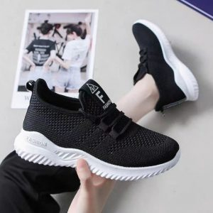 Sepatu Wanita Bahan Rajut Harga Murah